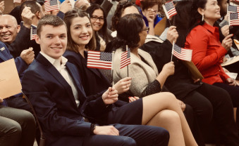 Charlotte Rohrer '19 became a U.S. citizen in December 2018.