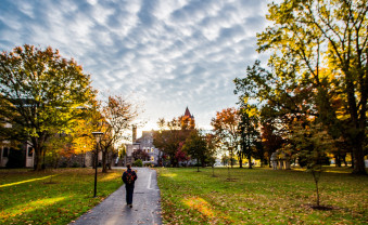 The Ursinus College campus