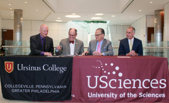 A new affiliation agreement allows Ursinus students to enter one of 12 graduate programs at USciences upon successful comp...