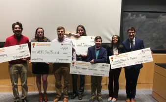 Ursinus College students were recognized for their original business ideas.