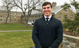 Jason Bennett '19 has been awarded a Fulbright Scholarship.