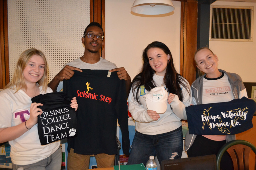 Students learned about a wide range of clubs and organizations at the annual activities fair.