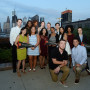 The first cohort of students for the Philadelphia Experience gather for a kickoff event on Sept. ...