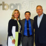 President Brock Blomberg joined Cynthia Fisher '83 at Carbon3D in California for her talk on entr...