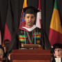 2014 Watson Fellow Codey Young spoke at the 2014 commencement.