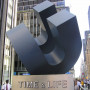 """Cubed Curve,"" once a familiar sight to millions in mid-town Manhattan, was donated to th..."