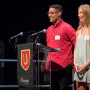 Students give presentations on their Summer Assist experiences