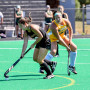 The Ursinus field hockey team plays on the newly resurfaced Eleanor Frost Snell Alumnae Field on ...