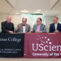 A new affiliation agreement allows Ursinus students to enter one of 12 graduate programs at UScie...