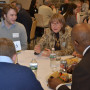 Students and board members discuss careers, graduate school and more.