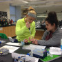 Ursinus students in Rebecca Roberts's lab perform interdisciplinary research outlined in the BASI...