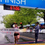 Crystal Burnick wins the Broad Street Run