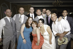 Wedding party of Harry Keyser '08 and Carla Giampa '08