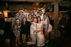 Wedding party of Allie Colsey ('12) and Cameron Travers