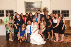 Wedding party of Katherine Perkins '07 and Michael McMullen
