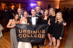 Ursinus alumni celebrate at the wedding of Lauren Derstine '10 and Mark Stipa '11