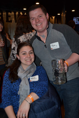 Ron Stranix '12 was one of our lucky raffle winners!