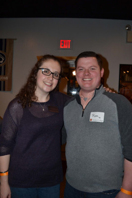 Our two beautiful GOLD Council Social Subcommittee co-chairs, Mollie Cherson '09 and Ron Stranix '12