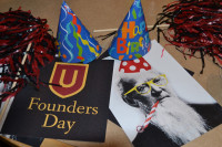 Celebration materials from Founders Day