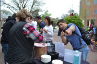 Students participating in Philanthropy Day