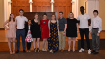 2019 Senior Class Gift Committee with Rosemary Pall, Executive Director of Annual Fund Programs