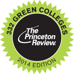 "Ursinus is one out of 332 ""green colleges"""