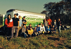 Ursinus students planted 480 trees in Hunsburger Woods