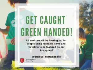 Get caught green handed!