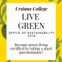 Become Green Living Certified!