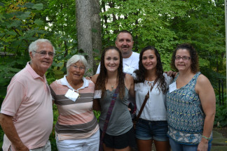 Legacy Breakfast 2014 (family with grandparents 3)