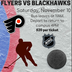 FLYERS VS BLACKHAWKS