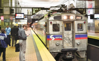 SEPTA patrons wait to board one of the regional lines at the Market East station on Friday, June 13, 2014. C.F. Sanchez / ...