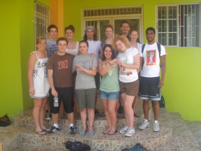 Another of the group in Jamaica
