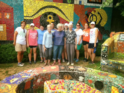 Ursinus students with Broad Street Ministry's Summer Youth Initiative