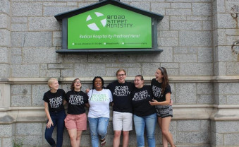 Sophy Gamber (UC '18) along with her fellow Broad Street Ministry Summer Youth Initiative Leaders