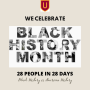 Black History Month 2021 visit @UrsinusInclusion Instagram to view our collection of 28 people in...