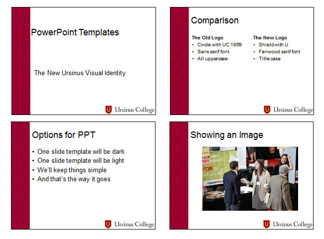 powerpoint templates college communications ursinus college