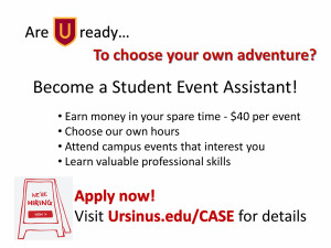Student Events Assistant