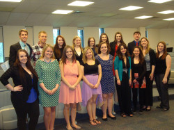 Psi Chi Induction April 2014