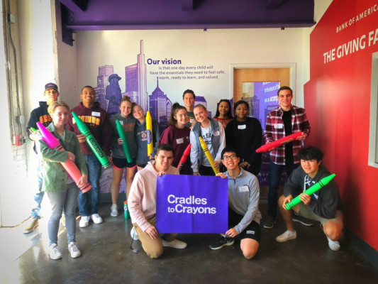 UCSG Cradles to Crayons Volunteer Event