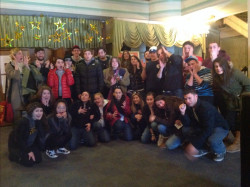 Introduction to Film Studies Students Visit the Colonial Theatre