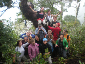 Students in Costa Rica, Summer 2013