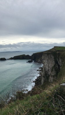 Photo of cliffs in Ireland