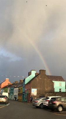 Rainbow in Ireland