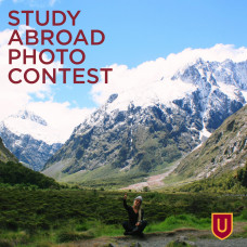 Advertisement for the Study Abroad Photo Contest