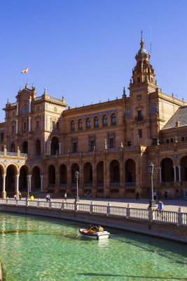 Plaza de Espana in Spain